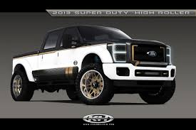 Black Ops Ford Ford U0027s Sema Fleet Of Custom F Series Fiesta Focus Fusion And
