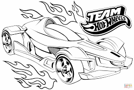 team wheels coloring page free printable coloring pages