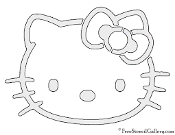 Hello Kitty Halloween Games by Hello Kitty Stencil Free Stencil Gallery