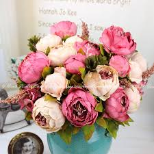 Fake Peonies Decorating With Fake Flowers Picture More Detailed Picture About