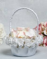 wedding baskets baskets for flower girl in wedding wedding flower girl baskets