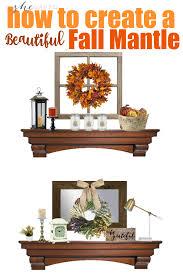 fall mantle decor ideas how to create a beautiful fall mantle