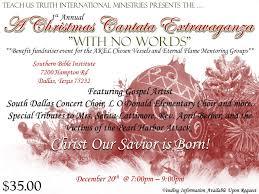 with no words a gospel cantata extravaganza benefit