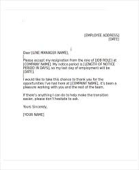 heartfelt resignation letter template 7 free word pdf format