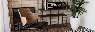 industrial loft furniture and decor
