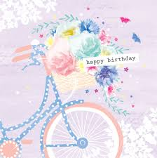 debbie edwards female birthday mothers day floral bike with