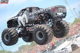 optima sponsored hall brothers racing monster trucks