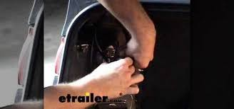 how to install a trailer wiring harness on a toyota camry car