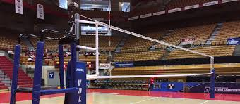 indoor steel volleyball net systems sports imports