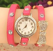 quartz bracelet wrist watches images New fashion cute women ladies girls quartz bracelet leather wrist jpg