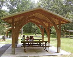 backyard pavilion kits traditional wooden pavilions wooden