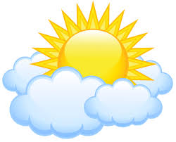 sun with clouds transparent png picture klipart