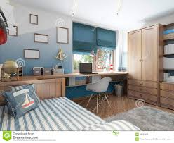 modern children u0027s room for a teenager in a nautical style with f