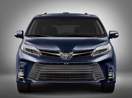 2018 toyota sienna preview j d power cars