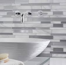 Peel And Stick Kitchen Backsplash Ideas by Interior Artd Peel And Stick Kitchen Backsplash Tile In X In Pack