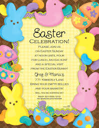 Easter Egg Hunt Party Decorations by Funny Easter Celebration Invitations E Card Design Sample With