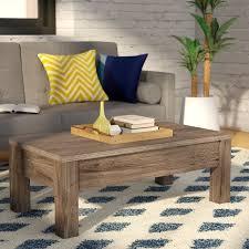 Arlington Lift Top Storage Ottoman Mistana Mansour Coffee Table With Lift Top U0026 Reviews Wayfair