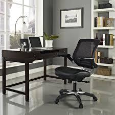amazon com modway edge mesh back and black vinyl seat office