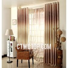 Purple And Cream Striped Curtains Brown And Yellow Custom Thermal Japanese Hotel Curtains