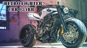 Honda Cbr 954 Rr Custom Retro Fighter Bikersaw Youtube