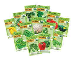 seed packets ferry morse organic vegetable seed packets grow this