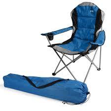 kestrel deluxe heavy duty padded steel folding camping festival