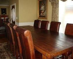 Custom Built Dining Room Tables by Handcrafted Dining Table Houzz