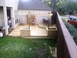 backyard deck and patio designs ideas small backyard decks ideas