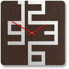 clock design stylish wooden wall clocks with modern design digsdigs