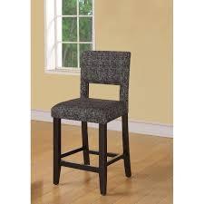linon home decor bar stools linon zeta stationary counter stool black u0026 white tweed fabric