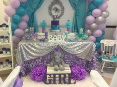 girl themes for baby shower grey and lavender baby shower elephant theme so much baby