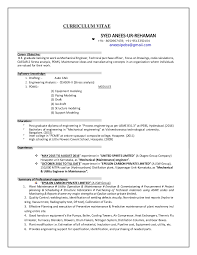 Mechanical Maintenance Resume Sample by Jsw Resume