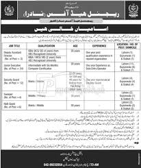 Ministry Of Interior Jobs National Database U0026 Registration Authority Nadra Ministry Of