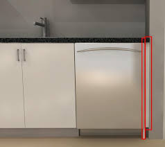 how to install base cabinets with dishwasher ikea kitchen cabinet filler best kitchen images