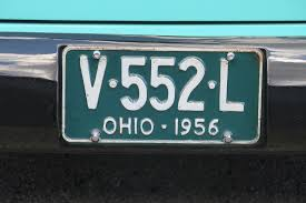 Ohio Vanity Plates 2015 Danchuk Tri Five Nationals And Vanity License Plates
