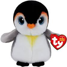 ty pongo penguin beanie boos small granville island toy company