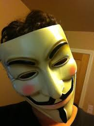 Meme Mask - just me wearing my 9gag meme mask 52883985 added by strudel at