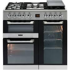 piano cuisine pas cher piano de cuisson à gaz cs90f320x 90 cm 5 foyers à gaz 1 wok