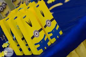 minion gift bags despicable me s favor bags minion gift bag minion