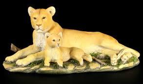 lion figurine lions figurines figure lion buy online cheap www figuren shop de