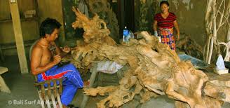 bali wood carving places to visit