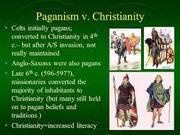 the anglo saxon period the beginning 1 st 5 th c