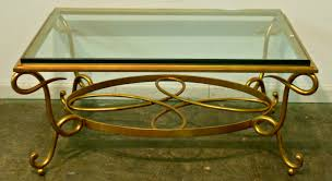 wrought iron coffee table with glass top elegant black wrought iron coffee table with glass top