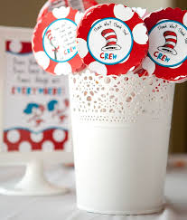 Cat In The Hat Party Decorations Kara U0027s Party Ideas Dr Seuss Cat In The Hat Party Via Kara U0027s Party