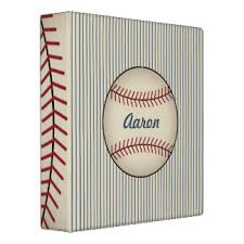 baseball card custom binders zazzle