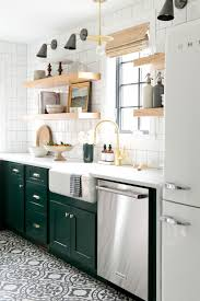 10 kitchens where the backsplash is the main event teal