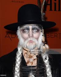 hilton play hosts adam lambert u0027s ghost town halloween party