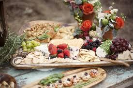 wedding platters gardener s shed chic wedding ruffled