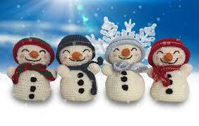 snowman ornament crochet pattern free snowman crochet