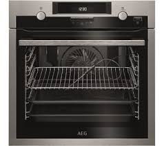 buy aeg bps552020m electric oven stainless steel free delivery